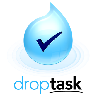 DropTask Mission Statement Logo
