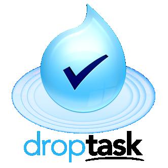 DropTask Mission Statement Logo